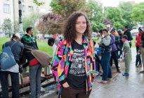 Selma, freiwillige Helferin
