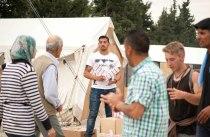 Zigarettenverkäufer im Flüchtlingslager Idomeni