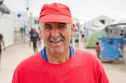 Der griechische Straßenkehrer Giorgio