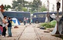 Die Gleise nach Mazedonien