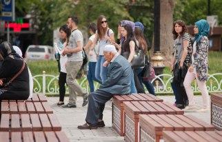 Zwischen Hagia Sophia und blauer Moschee