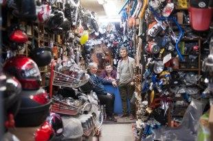 Motorradladen auf Türkisch