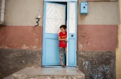 syrischer Junge in Dumlopinar