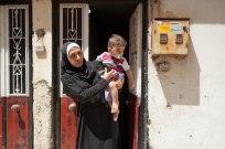 Syrische Frau in Dumlopinar.