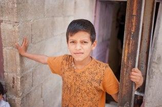 Syrischer Junge in Dumlopinar.