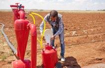 Auch die Wasserversorgung wurde von der WHH für Litaf gestellt.