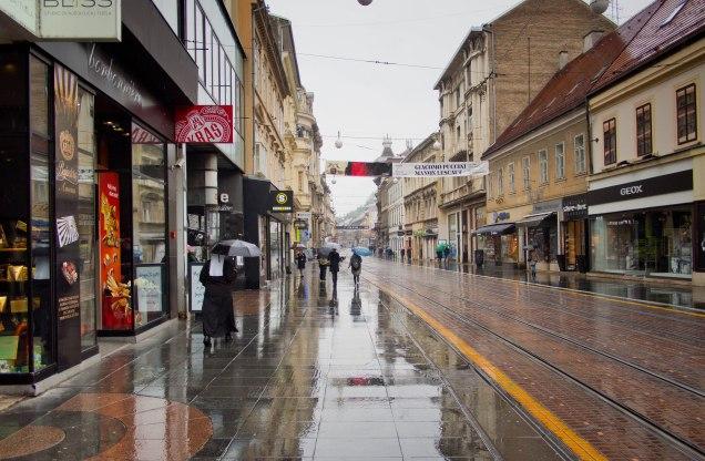 Zagreb Innenstadt