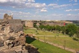 Historische Wehranlage in Diyarbakir.