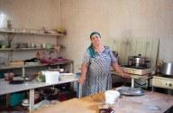 Die Köchinnen im Restaurant von Saids Tante.