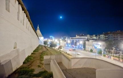 Blick vom Kremlin, Astrachan