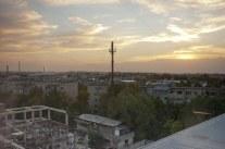 Blick über Shymkent