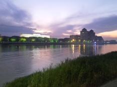 Uferpromenade in Atyrau.