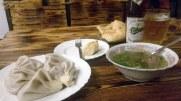 Kasachisches Essen in Vladikavkas