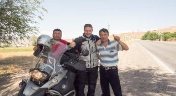 Akram (l) und Machmud (r)