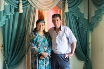 Alisher mit seiner Frau