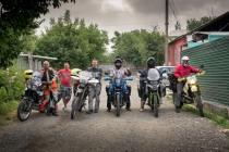 Die kirgisischen Biker in Osh.