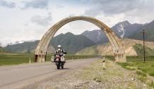 Auf dem Weg zur tadschikischen Grenze.