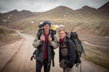 Sergej und Yaroslav im Grenzgebiet