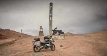 Tadschikische Grenzmarkierung