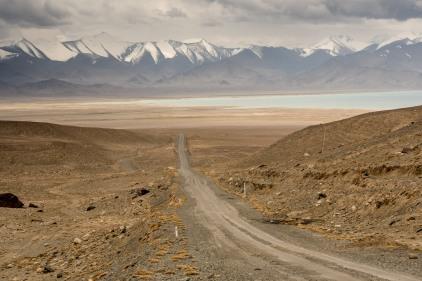 Tadschikistan und der Karakul-See