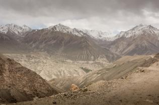 Zwischen Murgab und Ishkashim. Blick in den Wakhan Korridor
