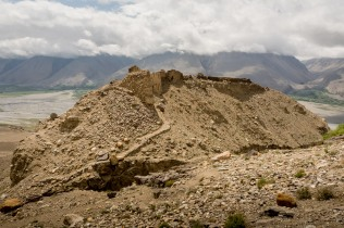 Das Yamchun Fort in Ishkashim / Vichkut