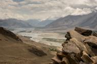 Blick in den Wakhan Korridor beim Yamchun Fort.