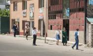 Straßenszene in Chorugh