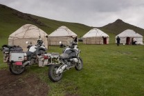 Jurten-Camp am Son-Kul See.