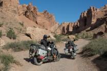 Im Charyn Canyon in Kasachstan.