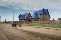 Andrejs und Johanns Haus in Protasowo