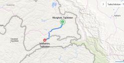 Von Murgab nach Ishkashim