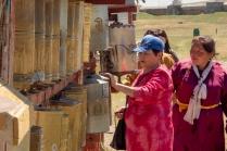 Im buddhistischen Kloster in Charchorin