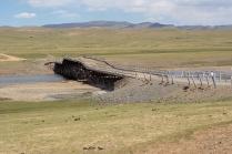 Brücke über den Olchon