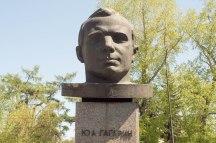 Juri Gargarin in Irkutsk
