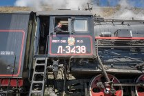 Fahrt mit der historischen Baikal-Bahn