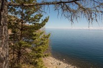Entlang der Strecke der historischen Baikalbahn