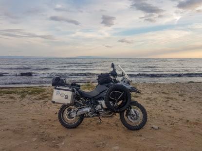 Baikal-Ufer kurz vor der heiligen Nase