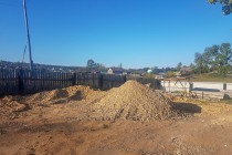 Schürfgrube hinter dem Bikepost in Mogocha