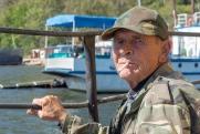 Angler am Baikalsee