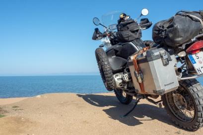 letzter Blick auf den Baikal